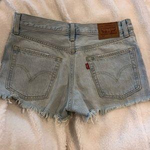 Levi's 501 vintage cutoff shorts